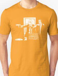 Dead Fiction - White #4 Unisex T-Shirt