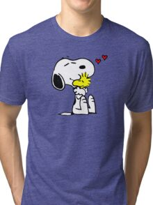 Snoopy Love Tri-blend T-Shirt
