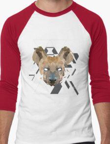GeoHyena Men's Baseball ¾ T-Shirt