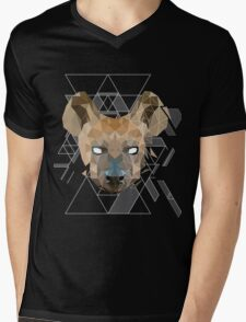 GeoHyena Mens V-Neck T-Shirt