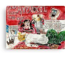 Freddy Krueger :Hypnocil Canvas Print