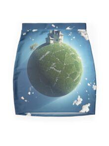 Free House Mini Skirt