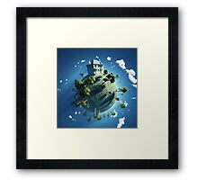 Live On Framed Print