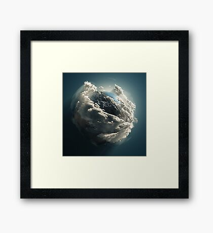 Earth  Framed Print