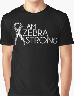 Zebra Strong- Ehlers Danlos Syndrome Awareness Graphic T-Shirt