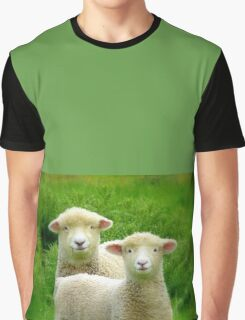 The Red Bubble Definition of Cute! - Lambs - NZ Graphic T-Shirt