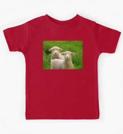 The Red Bubble Definition of Cute! - Lambs - NZ Kids Tee