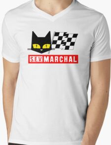 Retro Auto Mens V-Neck T-Shirt