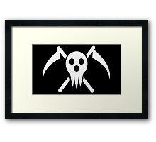 soul eater- lord death logo Framed Print