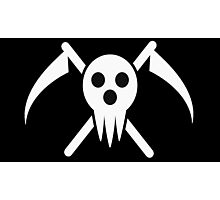 soul eater- lord death logo Photographic Print
