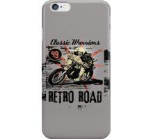 retro road iPhone Case/Skin