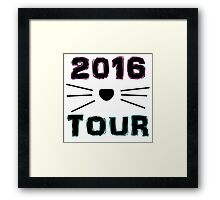 Dan and Phil NEW TOUR 2016 MERCH CAT WHISKERS! Framed Print