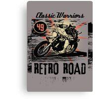 retro road Canvas Print