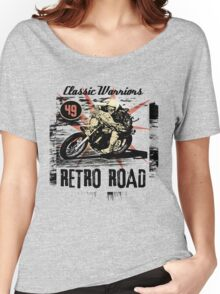 retro road Women's Relaxed Fit T-Shirt