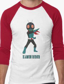 KamenRider Men's Baseball ¾ T-Shirt