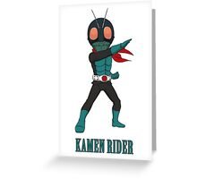 KamenRider Greeting Card