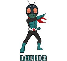 KamenRider Photographic Print