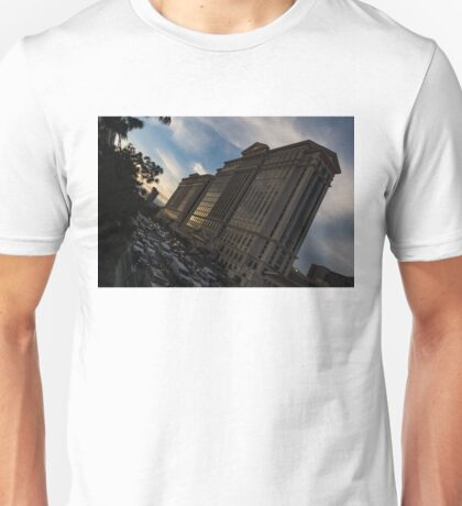 Mad Rush for Cash - Flamingo Road at Caesars Palace in Las Vegas Unisex T-Shirt