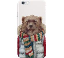 Winter Wolverine iPhone Case/Skin