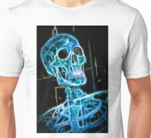 Skeleton lightblue Unisex T-Shirt