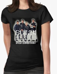 Duran Duran Paper Gods Tour Womens Fitted T-Shirt