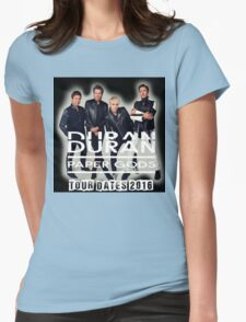 Duran Duran Paper Gods Tour Womens Fitted T-Shirt
