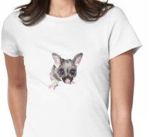 Brushtail Possum Joey Womens Fitted T-Shirt