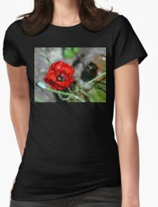 The Bumble & The Poppy - NZ Womens Fitted T-Shirt