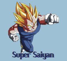 Super Saiyan VEGETA Kids Tee