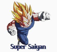 Super Saiyan VEGETA Baby Tee