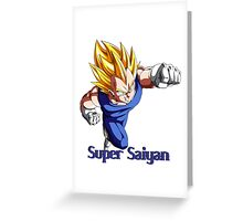 Super Saiyan VEGETA Greeting Card