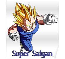 Super Saiyan VEGETA Poster