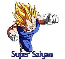 Super Saiyan VEGETA Photographic Print
