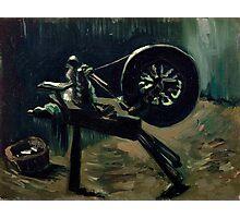 1885-Vincent van Gogh-Bobbin winder-34x44,3 Photographic Print