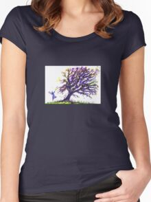Fairy Dust Tree Women's Fitted Scoop T-Shirt