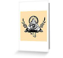 Masonic Icons Greeting Card