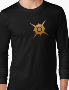 Pokemon Sun Logo Design Long Sleeve T-Shirt