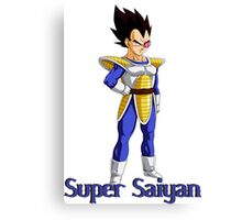 super Saiyan Canvas Print