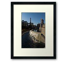 Sunny and Still - Las Vegas Morning at Caesars Palace Framed Print