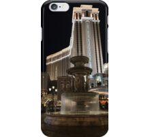 Night Glow at the Venetian Las Vegas iPhone Case/Skin
