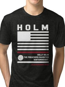 Holly Holm - Fight Camp Collection Tri-blend T-Shirt