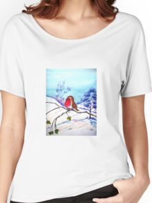 Winter Snow  Women's Relaxed Fit T-Shirt