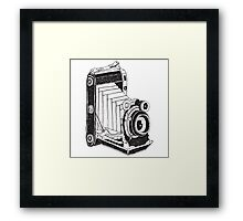 Retro Camera 01 Framed Print