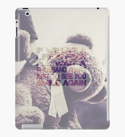 Muse resistance iPad Case/Skin