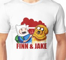 Adventure Time Jake And Finn Unisex T-Shirt