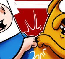 Adventure Time Jake And Finn Sticker