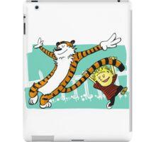 Calvin and Hobbes Dancing iPad Case/Skin