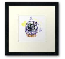 French bulldog Framed Print