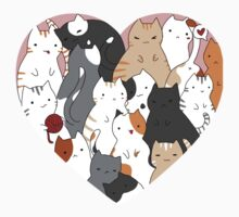 A heart full of cats Baby Tee