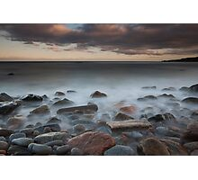 sunset, nigg bay Photographic Print